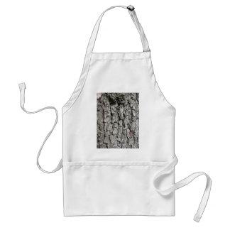 Pear tree bark texture background standard apron