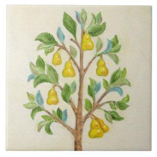Pear Tree wall tile