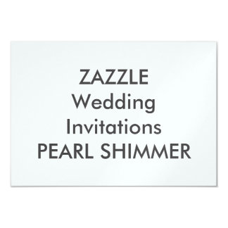 "PEARL 5"" x 3.5"" Wedding Invitations"