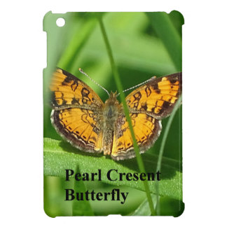 Pearl Crescent Butterfly iPad Mini Covers