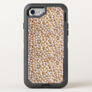 Pearl designed iphone OtterBox defender iPhone 7 case