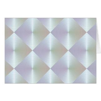 Pearl Diamond Tile Pattern Card