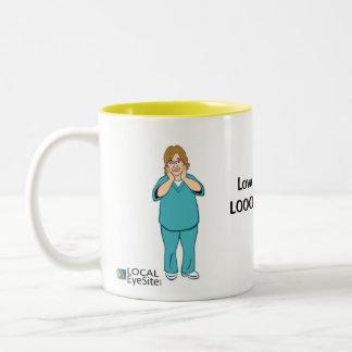Pearl & Eileen LOOONG Lashes Mug
