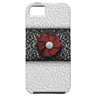 Pearl Flower and Lace Case For The iPhone 5