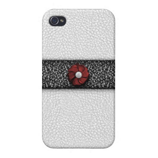 Pearl Flower and Lace iPhone 4/4S Cases