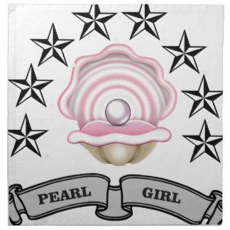 pearl girl yeah napkin