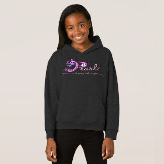 Pearl girls P name meaning monogram apparel