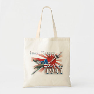 Pearl Habor 7th Dec 1941 Tote Bags