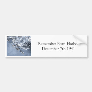 Pearl Harbor Aftermath Bumper Sticker