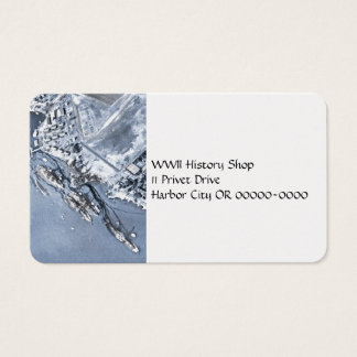Pearl Harbor Aftermath Business Card