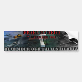 Pearl Harbor Bumper Sticker