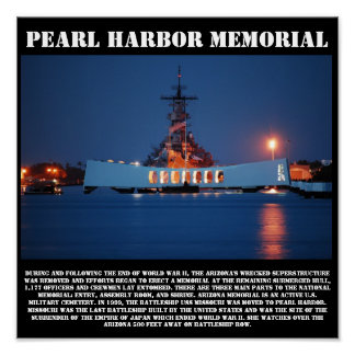 Pearl Harbor Memorial Print