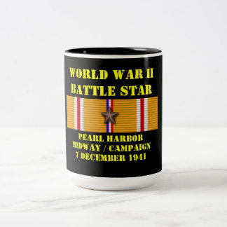 Pearl Harbor / Midway Campaign Two-Tone Coffee Mug