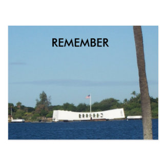 Pearl Harbor post card