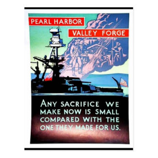 Pearl Harbor V All Ey For Ge Postcard