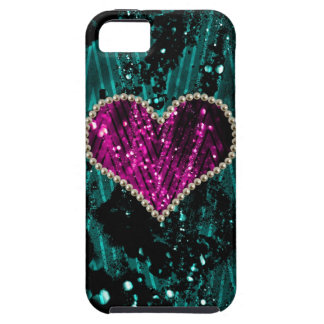 Pearl Heart iPhone 5 Covers