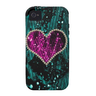Pearl Heart iPhone 4 Cases