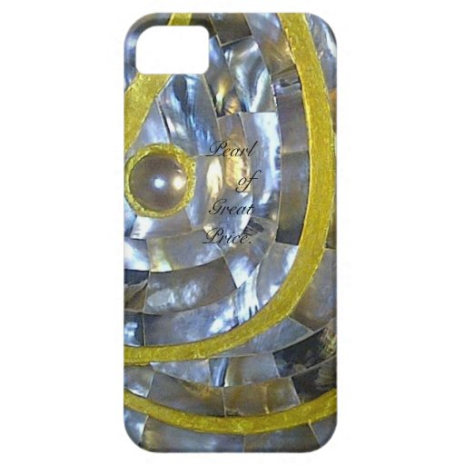 Pearl of Great Price iPhone 5 Cases