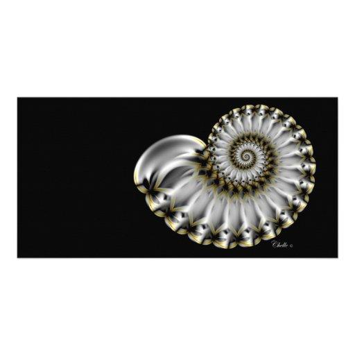 pearl customized photo card