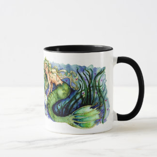 Pearl Pretty Green Mermaid Mug