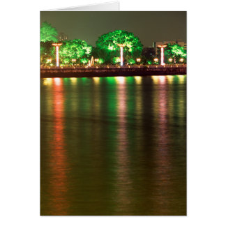 Pearl River Reflections Greeting Card