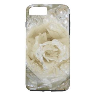 Pearl Rose Floral Art I Phone iPhone 8 Plus/7 Plus Case