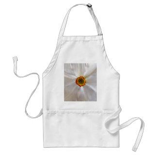 pearl white narcissus standard apron
