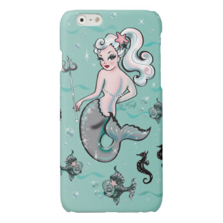Pearla Mermaid looking back cellphone case