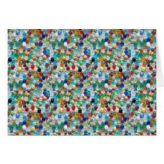 PEARLE Colorful Natural Stones : ENJOY EVERYONE Card