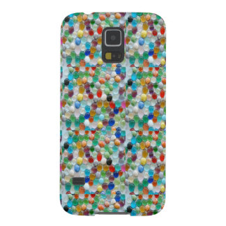 PEARLE Colorful Natural Stones : ENJOY EVERYONE Case For Galaxy S5