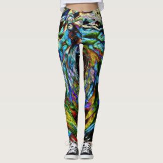 Pearlized Kaleidoscope Leggings