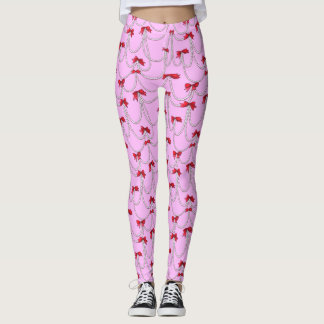 Pearls and Bows Leggings