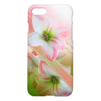 Pearls and Flowers iPhone 7 Matte Finish Case