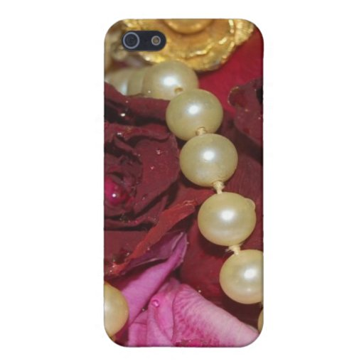 Pearls and Roses Cases For iPhone 5