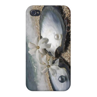 Pearls Cover For iPhone 4
