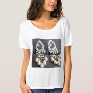 Pearls Earrings T-Shirt