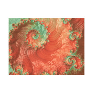 Pearls of the Southwest Fractal Art Canvas Print