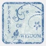 PEARLS OF WISDOM Stickers