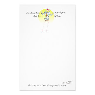 Pearls of wisdom Vanity Stationery