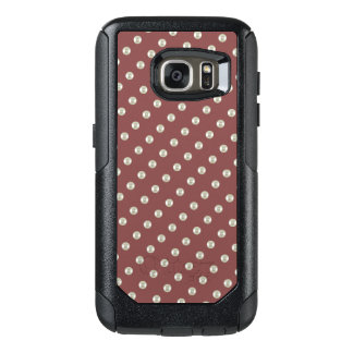 Pearls on brick color OtterBox samsung galaxy s7 case