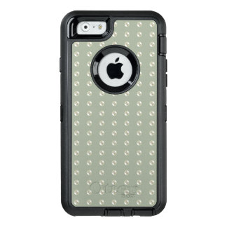 Pearls on grey OtterBox iPhone 6/6s case