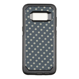 Pearls on slate color OtterBox commuter samsung galaxy s8 case