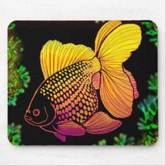 Pearlscale Goldfish Mousepad