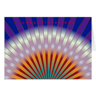 Pearly greeting card