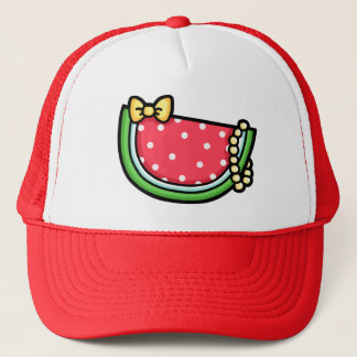 Pearly Watermelon Hat
