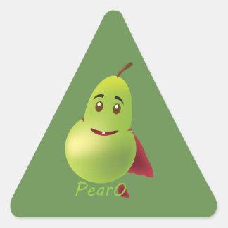 PearO the Hero Pear - more sticker