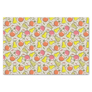 Pears and Apples Tissue Paper