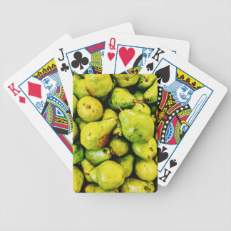 Pears Bicycle Playing Cards