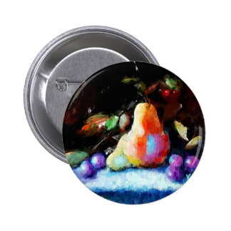 Pears & Grapes Gifts 2 Inch Round Button