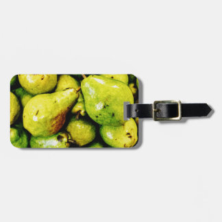 Pears Luggage Tag